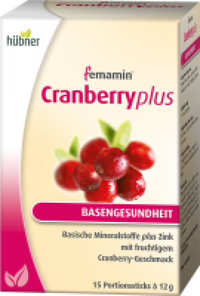 femamin Cranberry plus  15 Sticks  à 12g